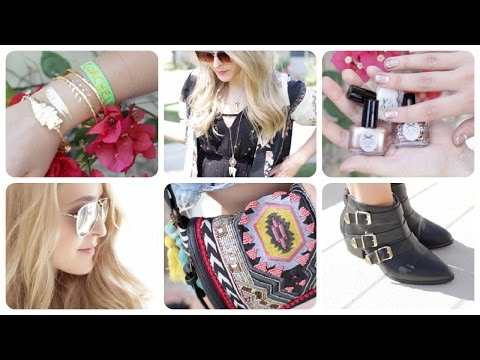 My Style Diary: Coachella & La! Fleurdeforce    Ad video