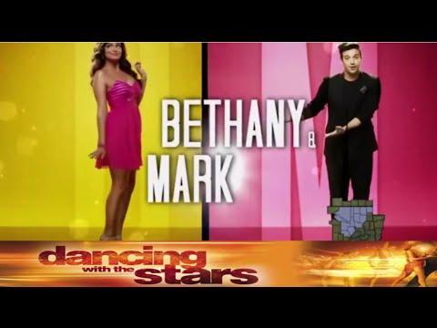 Bethany Mota and Mark Ballas