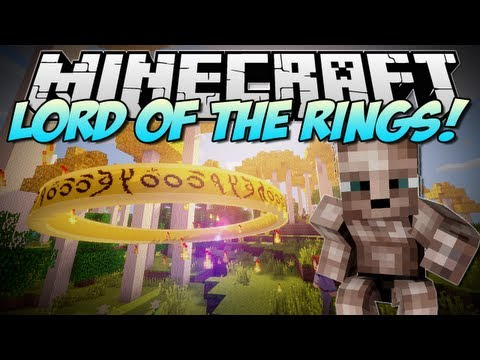 Minecraft   LORD OF THE RINGS! (Live Life in Middle Earth!)   Mod Showcase [1.6.2]