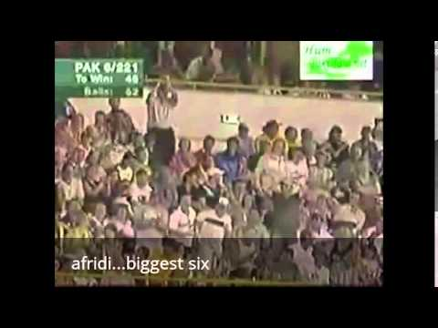 Cricket that shook the world