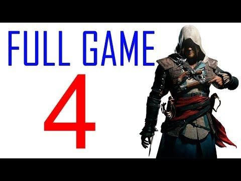 Assassin's creed 4 walkthrough - Part 4 Gameplay Let's play