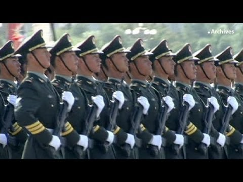 Hard cash: China boosts military spending