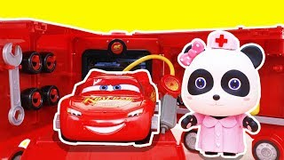 Transforming Mack Truck Block Toys | Learning Color Tayo Cars | Kiki with Assembly Model Kit #Toybus