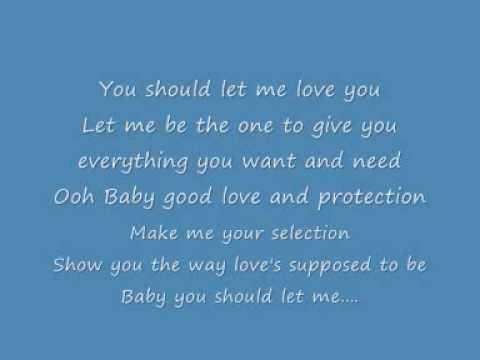 Mario - Let me love you [Lyrics]
