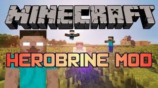 Minecraft - Mods: HEROBRINE Mod (1.4.5)