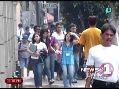 [News@1 Junior Edition] Philippine has highest unemployment rate in ASEAN nation [05|04|14]