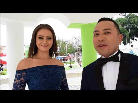 Carolina Guerra y Juan Valdez – Certamen de Belleza Mi Jutiapa.com 2018