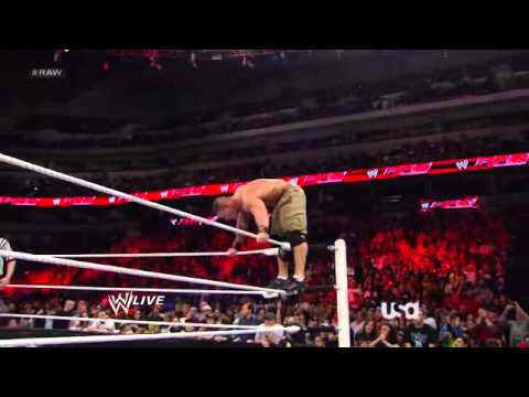 John Cena Vs Cm Punk || Winner Faces The Rock For The Wwe Championship At Wrestlemania video