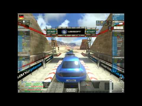 PENTO PRESS START : Trackmania 2 Canyon