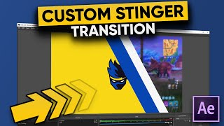 How To Make A CUSTOM Stinger Transition For Your Twitch Stream!