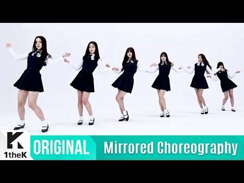 [Mirrored] GFRIEND(여자친구) _ Rough Choreography(시간을 달려서 거울모드 안무영상)_1theK Dance Cover Contest