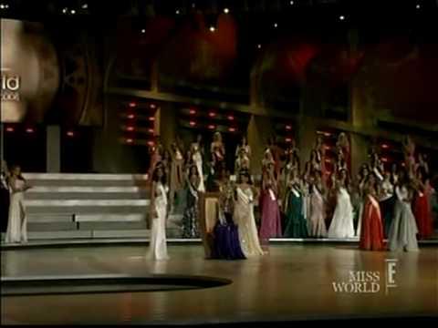 MISS WORLD 2008 Crowning