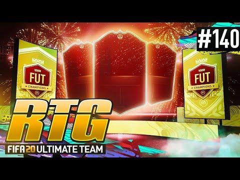 INSANE FUT CHAMPS REWARDS! - #FIFA20 Road to Glory! #140! Ultimate Team