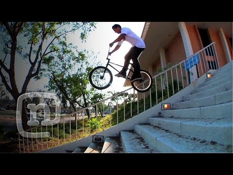 The Hunt's Jourdan Barba: Crooked World BMX