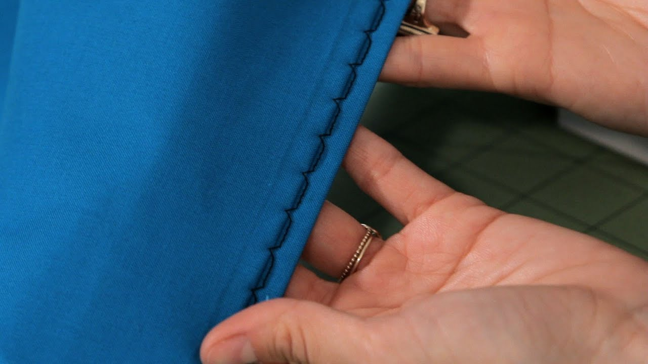How to Use a Blind Hem Foot Attachment | Sewing Machine ...