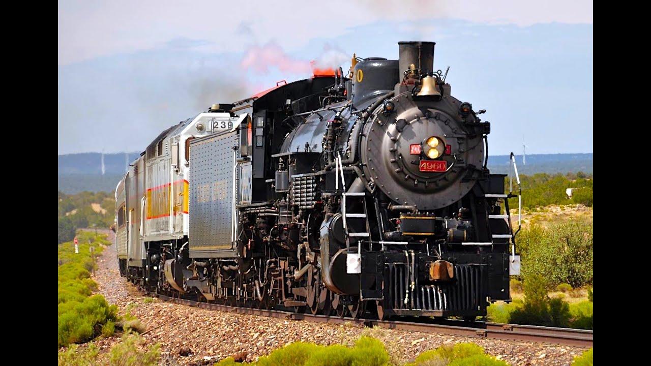 Grand Canyon Steam Train - YouTube