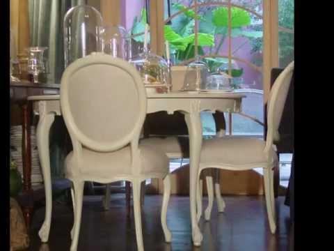 Mesas comedor blancas youtube - Mesas de salon clasicas ...
