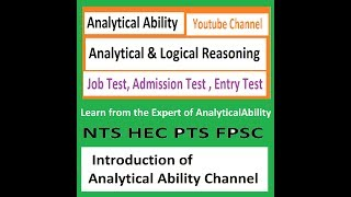 analytical ability examples