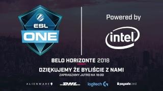 ESL One Belo Horizonte 2018 | Faza grupowa | Dzień 2 | NA ŻYWO!