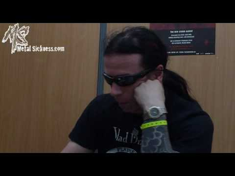 Cradle Of Filth interview - Paul Allender (Hellfest 2009)