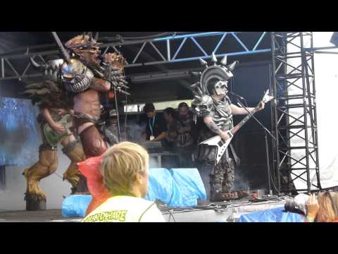 Gwar - Live at Soundwave,Sydney - 23.2.2014 - BOBMETALLICAFREAK