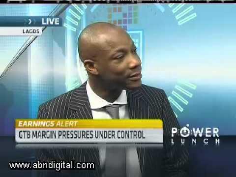 Nigeria's Guaranty Trust Bank H1 with CEO Segun Agbaje