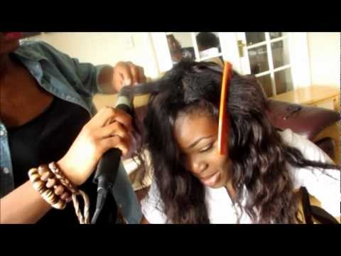 Turning Ropo Into a Brazilian Babe - Side Parting (Installation Video)