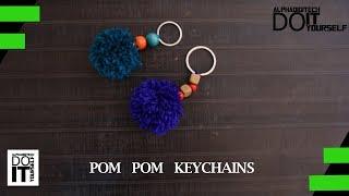 Pom Pom Keychains | Do It Yourself | DIY