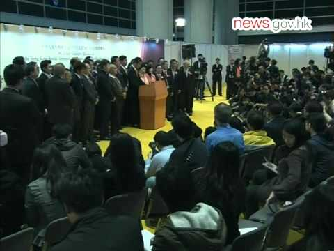 CY Leung to become new Chief Executive  (25.3.2012)