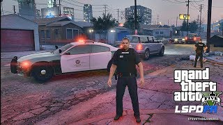 LSPDFR #490 GANG UNIT PATROL!! (GTA 5 REAL LIFE POLICE PC MOD) HOOD