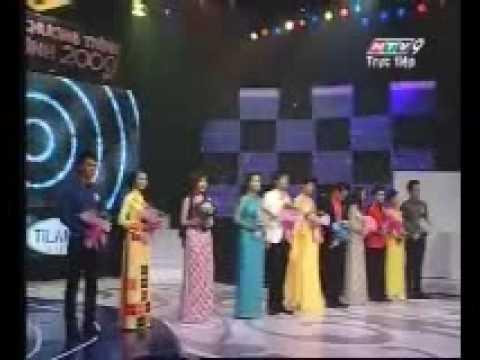 Nguoi dan chuong trinh truyen hinh 2009 - MC Dem chung ket 3