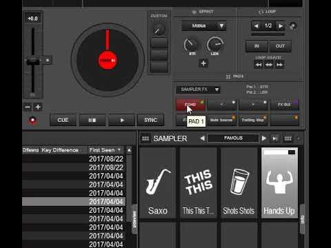 virtual dj samples dancehall
