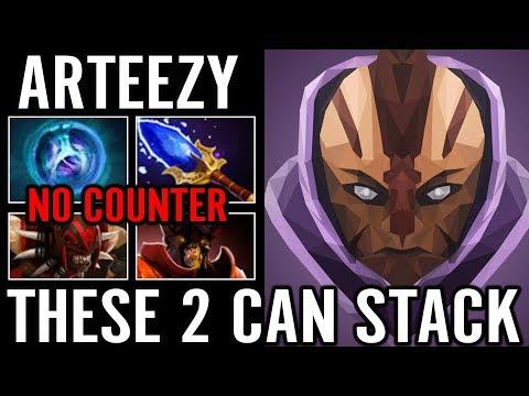 Arteezy 2x Linken Effect Counter BS and DOOM RTZ Dota 2 Pro Replay