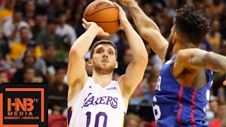 Philadelphia Sixers vs Los Angeles Lakers Full Game Highlights / July 7 / 2018 NBA Summer League