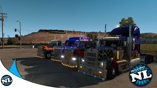 AMERICAN TRUCK SIMULATOR - Public Convoy - TRUCKERS MP EVENT - FLAGSTAFF TO SAN DIEGO TRUCKING