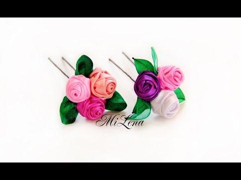 Цветы на шпильку своими руками 42