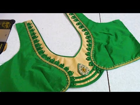 Latest and beautiful designer blouse cutting and stitching || Womens fashion blouses