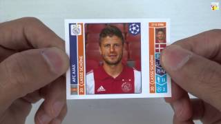 UNBOXING: 4 Sobres stickers UEFA Champions League 2014-2015 [4]