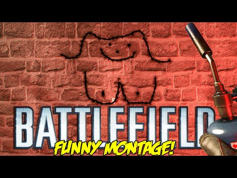 Battlefield 4 Funny Montage!  Repair tool Game , Flying Soldier , Claymore Tank (BF4 Funny Moments)