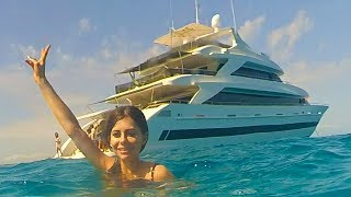 $42 Million Dollar Yacht Tour !