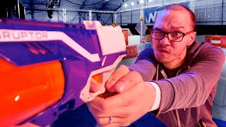 The touring Nerf arena is my childhood dreams come true -- Nerf Challenge First Look