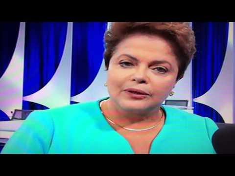 Dilma Passa Mal Ao Vivo No Sbt Após Debate 16 10 2014 video