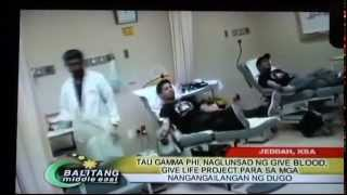 GIVE BLOOD, GIVE LIFE 2 - TAU GAMMA PHI JEDDAH CHAPTER