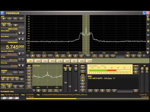 Radio Marti via Greenville, NC (U.S.A.) 5745kHz 11/22/12 10:59~ UTC - Complete Station Announcements
