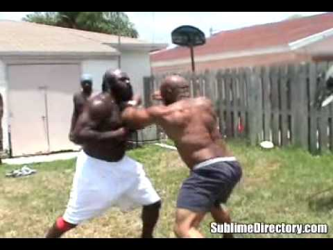 Kimbo Slice Street Fight Image 1