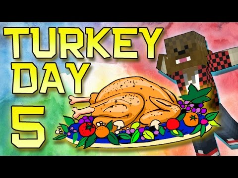 Minecraft: Modded Turkey Day Thanksgiving Survival Let's Play w/Merome 5 - THANK YOU & LOVE YOU!