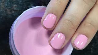 OPI dipping powder | mod about you | on natural nail