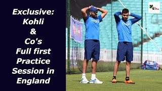 Exclusive Video: Kohli & his boys have their first training session at the Oval | ICC CWC 2019