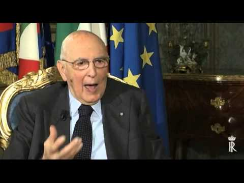 Colloquio del Presidente della Repubblica Giorgio Napolitano con Eugenio Scalfari
