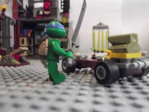 lego tortue ninja pisode 3 youtube. Black Bedroom Furniture Sets. Home Design Ideas